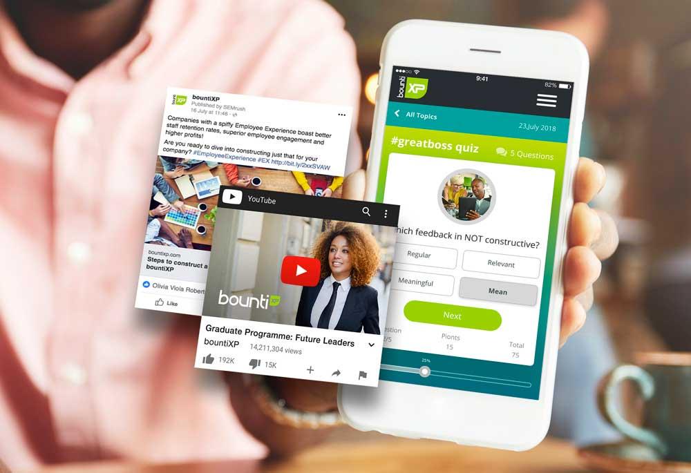 Custom, interactive quizzes, Multimedia communication platform, Design challenges, Digital innovation